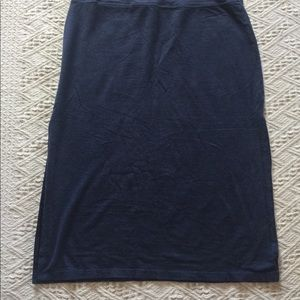 Athleta Knit Skirt with Side Slits